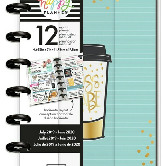 Boss Babe Mini Planner The Happy Planner New
